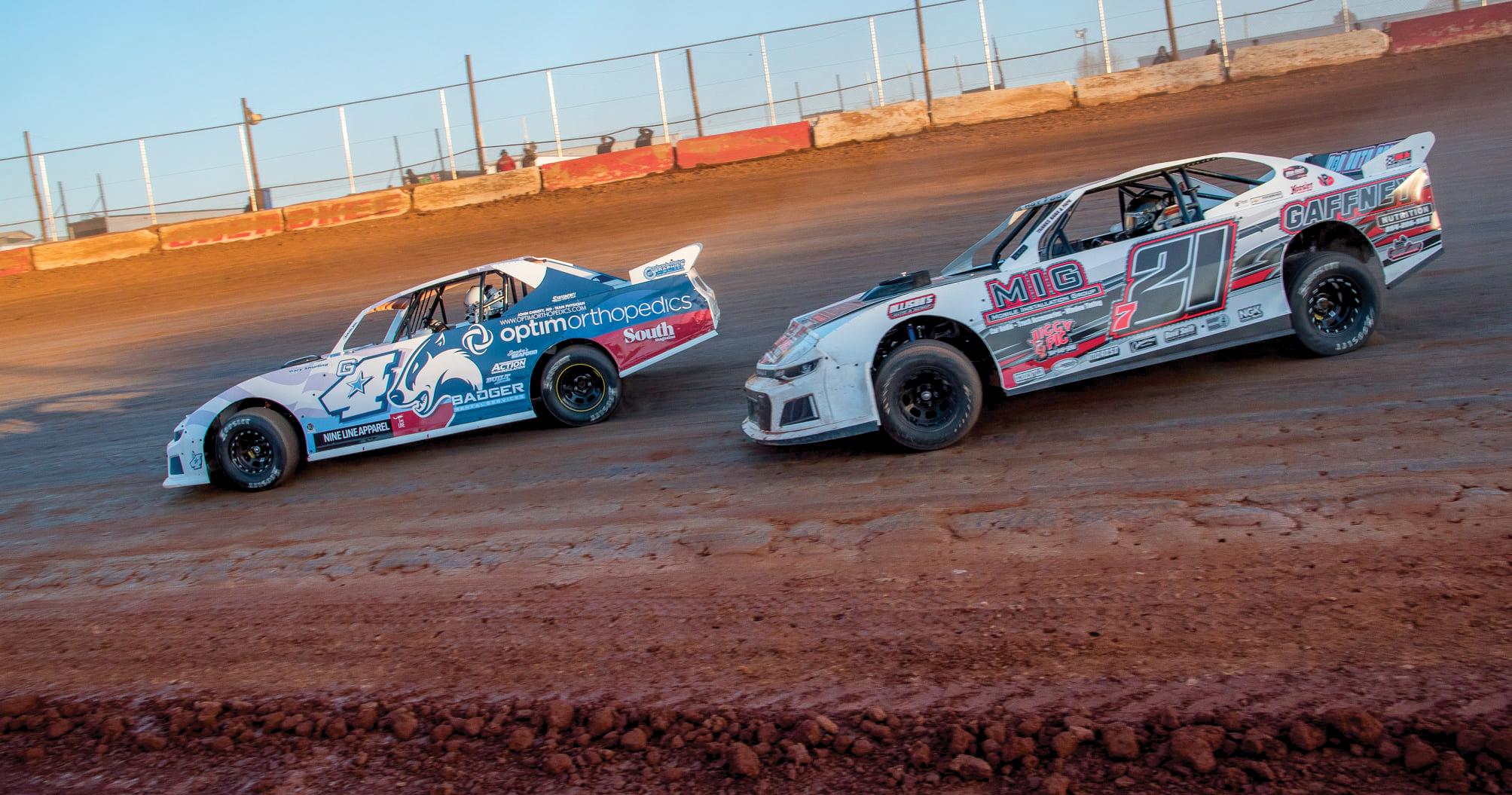 Dirt Track Optim Car Steve Moore
